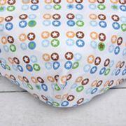 Caden Lane Star Dot Crib Sheet