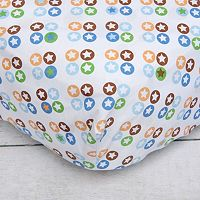 Caden Lane Star Dot Crib Sheet