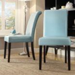HomeVance 2 pc Jansen Parson Chair Set
