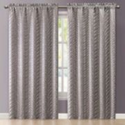 VCNY Kenya Jacquard Window Curtain - 55'' x 84''