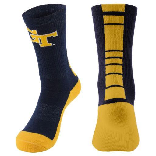 Youth Mojo Georgia Tech Yellow Jackets Champ 1/2-Cushion Performance Crew Socks
