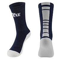 Youth Mojo BYU Cougars Champ 1/2-Cushion Performance Crew Socks
