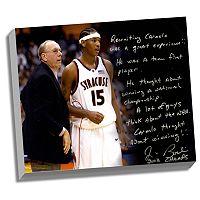Steiner Sports Syracuse Orange Jim Boeheim Recruiting Carmelo Facsimile 22