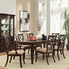 HomeVance Hansford 7-piece Extendable Forma Dining Set by