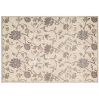 Nourison Graphic Illusions Floral Print Rug