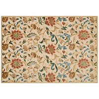 Nourison Graphic Illusions Floral Print Rug