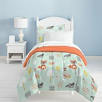Dream Factory Woodland Friends 5 pc Bed Set - Twin