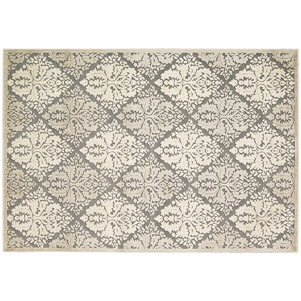 Nourison Graphic Illusions Trellis Rug