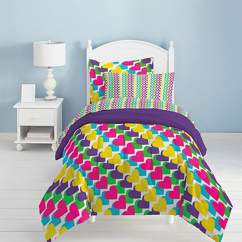 Dream Factory Rainbow Bed Set