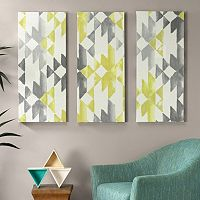 INK+IVY 3 pc ''Sierra'' Canvas Wall Art Set