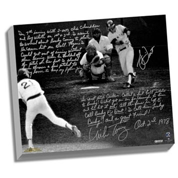 Steiner Sports Bucky Dent and Mike Torrez 1978 Walk-Off Home Run Facsimile 22