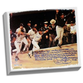 "Steiner Sports New York Yankees Cecil Fielder 1996 World Series Facsimile 22"" x 26"" Stretched Story Canvas"