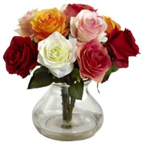 nearly natural Rose Floral Arrangement