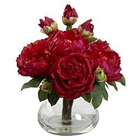 nearly natural Peony & Rose Arrangement