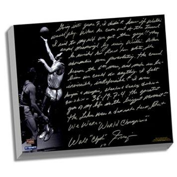 Steiner Sports New York Knicks Walt Frazier The Willis Reed Game Facsimile 22