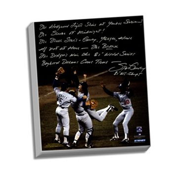 Steiner Sports Los Angeles Dodgers Steve Garvey 1981 World Series Celebration Facsimile 22