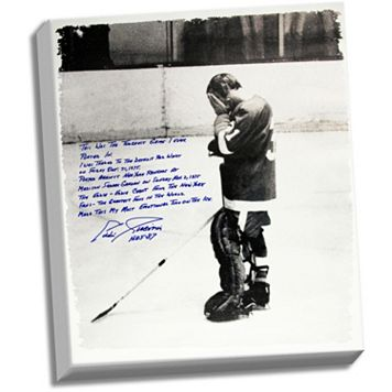 Steiner Sports Detroit Red Wings Eddie Giacomin Returning to MSG Facsimile 22