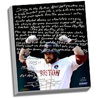 Steiner Sports Boston Red Sox Jonny Gomes Boston Strong Facsimile 22