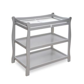 Badger Basket Sleigh Style Changing Table