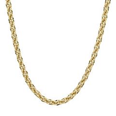 Everlasting Gold 14k Gold Rope Chain Necklace - 24 in