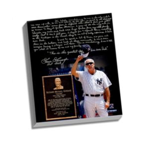 """Steiner Sports New York Yankees Goose Gossage Goose Gossage Day Facsimile 22"""" x 26"""" Stretched Story Canvas"""