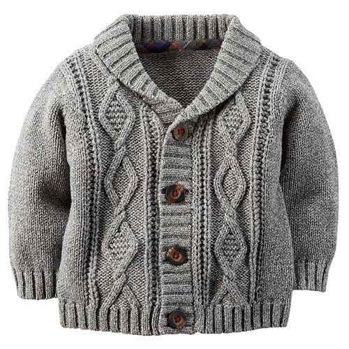 26c8f196fda5 Carter s Baby Boy Cable Knit Cardigan