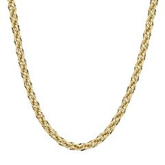 Everlasting Gold 14k Gold Rope Chain Necklace - 30 in