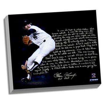 Steiner Sports New York Yankees Goose Gossage On Closing Facsimile 22
