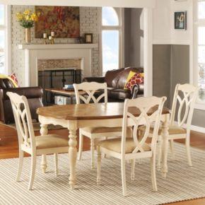 HomeVance Hillston 5-piece Extendable Dining Set