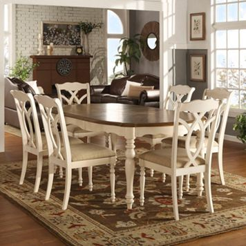 HomeVance Hillston 7-piece Extendable Dining Set