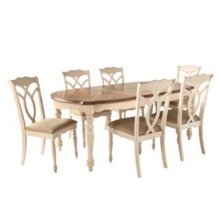 HomeVance Hillston 7-piece Extendable Dining Set