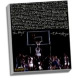 "Steiner Sports Houston Cougars Elvin Hayes Being Big E Facsimile 22"" x 26"" Stretched Story Canvas"