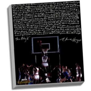 """Steiner Sports Houston Cougars Elvin Hayes Being Big E Facsimile 22"""" x 26"""" Stretched Story Canvas"""