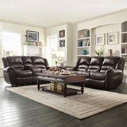 HomeVance Halesboro 2 pc Living Room Set
