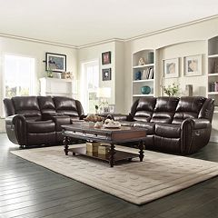 HomeVance Halesboro 2 pc Living Room Set
