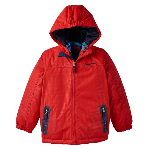 Toddler Boy Rugged Bear 3 In 1 Systems Hooded Jacket