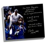 "Steiner Sports Indiana Hoosiers Bob Knight Winning Olympic Gold Facsimile 22"" x 26"" Stretched Story Canvas"