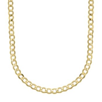 Everlasting Gold 14k Gold Curb Chain Necklace - 22 in.