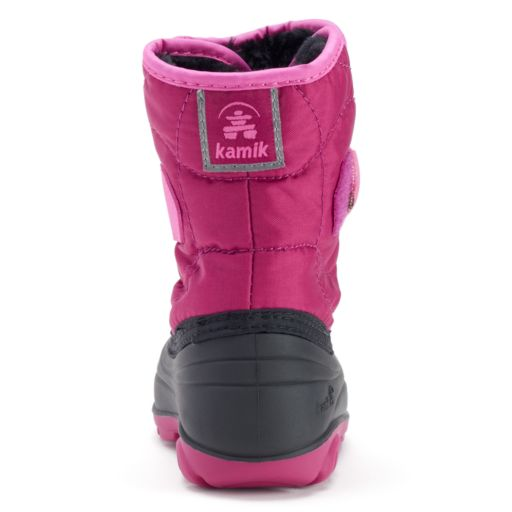 Kamik Snowbug3 Toddler Girls' Waterproof Winter Boots