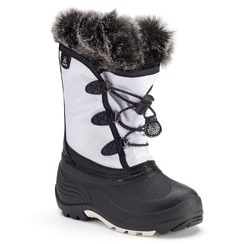 f62f3154f59a Kamik Powdery Girls  Waterproof Winter Boots