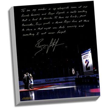 Steiner Sports New York Rangers Brian Leetch Banner Night Facsimile 22