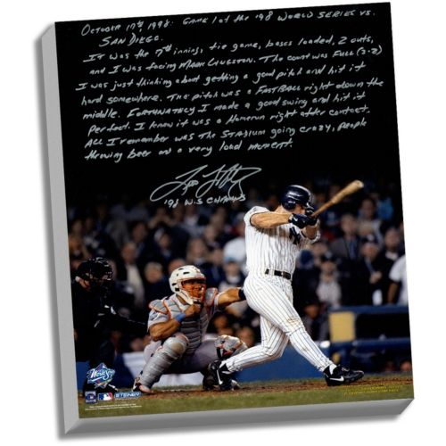 Steiner Sports New York Yankees Tino Martinez 1998 World Series Grand Slam Facsimile 22