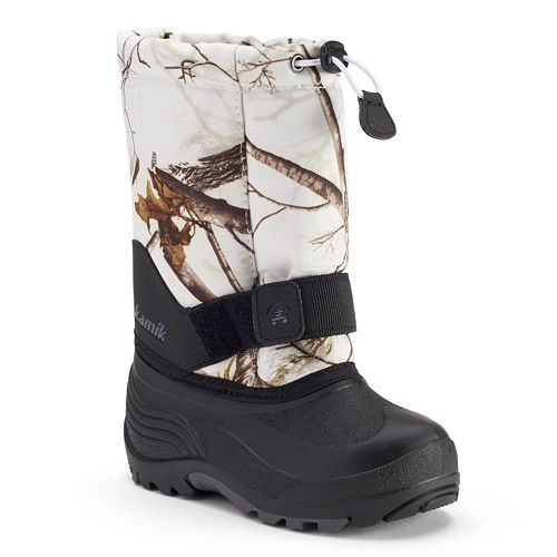 ae1dc51d4f417 Kamik Rocket2 Realtree Camo Boys' Waterproof Winter Boots