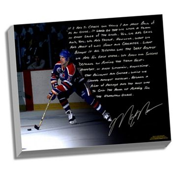 Steiner Sports Edmonton Oilers Mark Messier Oilers Dynasty Facsimile 22