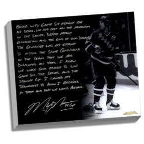 "Steiner Sports New York Rangers Mark Messier 1994 Stanley Cup Guarantee Facsimile 22"" x 26"" Stretched Story Canvas"