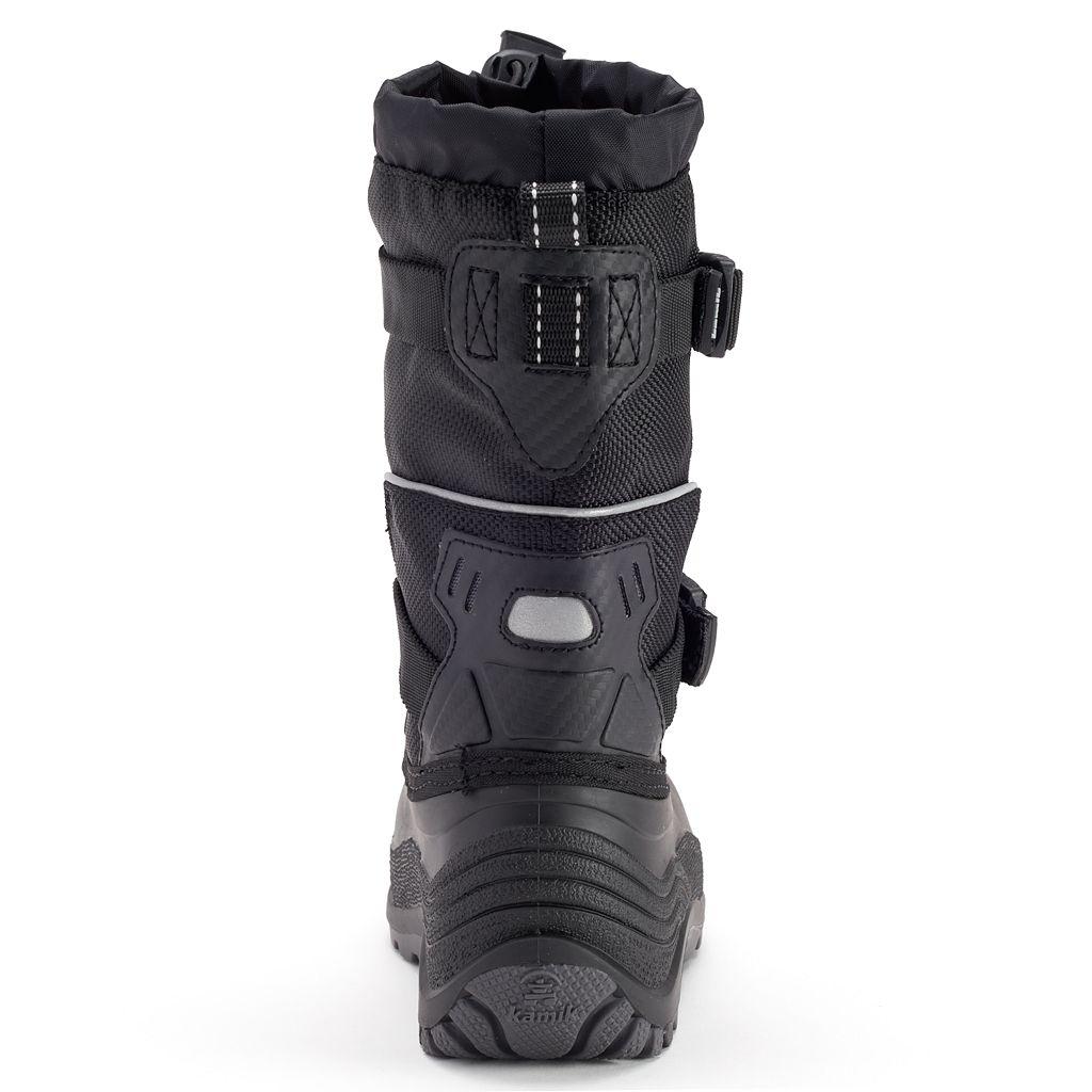 Kamik Glacial Boys' Waterproof Winter Boots