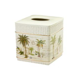 Avanti Colony Palm Tissue Box Cover