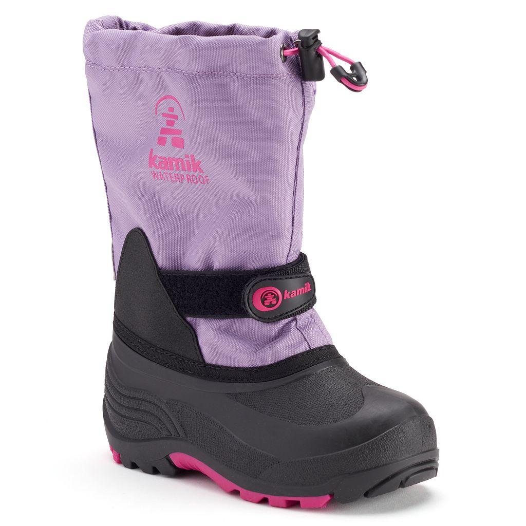 Kamik Waterbug5 Girls' Waterproof Winter Boots