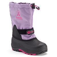 Kamik Waterbug5 Girls' Waterproof Winter Boots