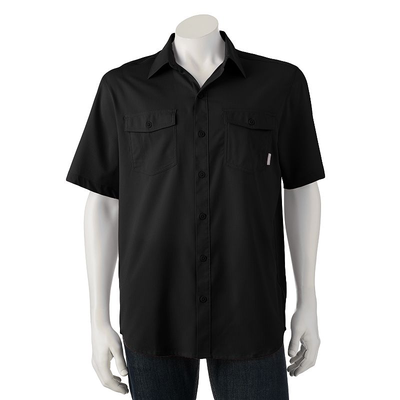 Polyester moisture wicking shirt kohl 39 s for Moisture wicking button down shirts
